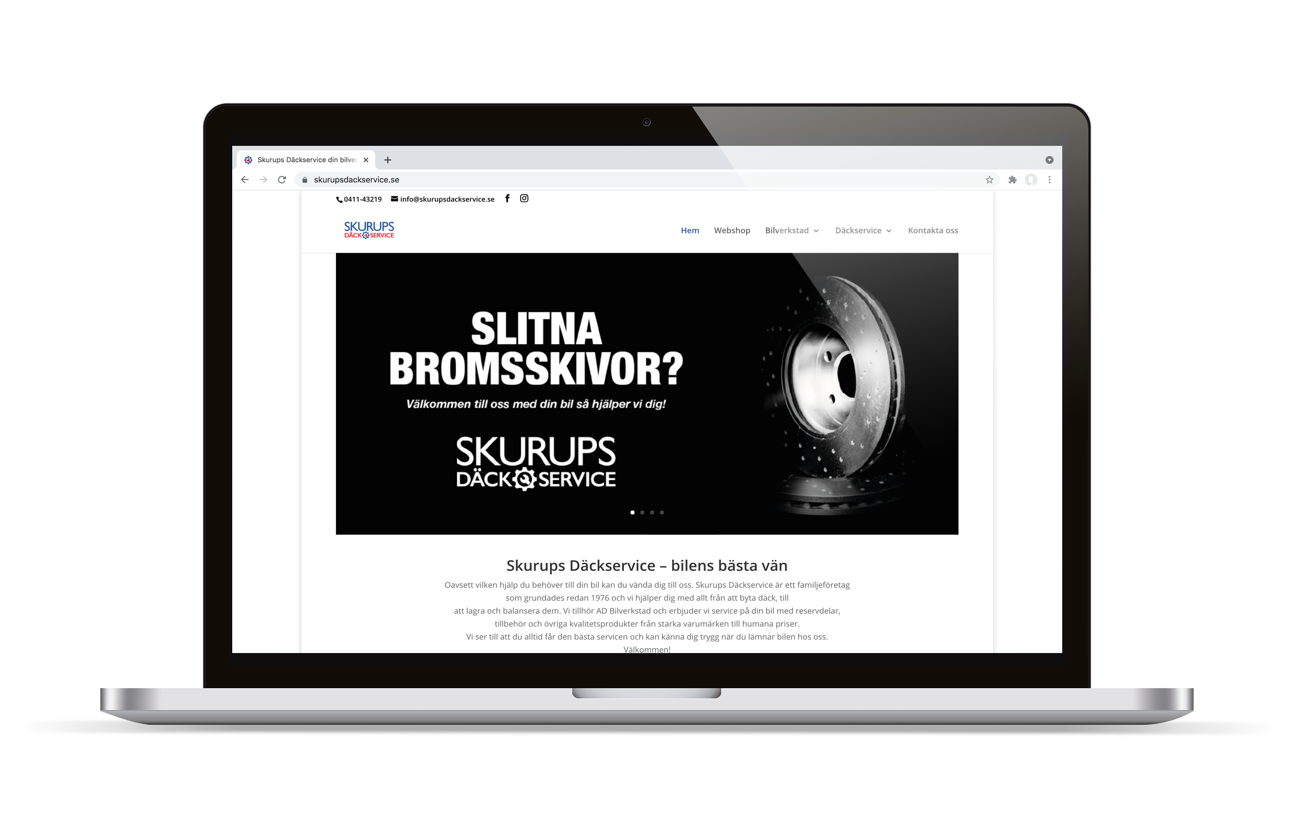 Webbdesign ny hemsida